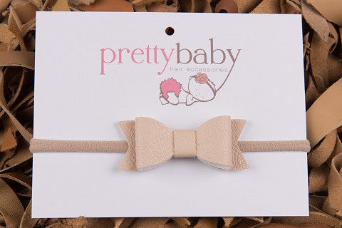 Latte Bow Headband