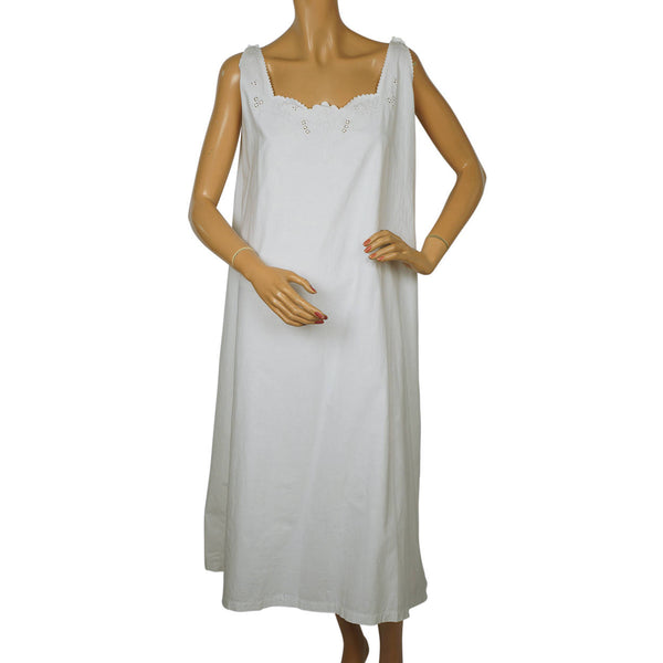 Antique-White-Cotton-Nightie