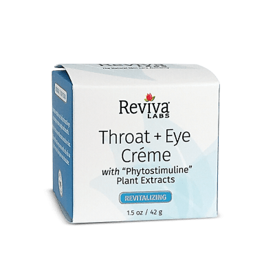 Reviva Labs Throat & Eye Cream, 1.5 oz.