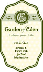 Garden of Eden Chill Out Sport and Foot Rub
