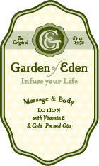 Garden of Eden Massage & Body Lotion