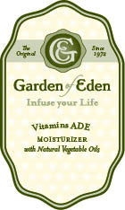 Garden of Eden Vitamins A, D & E Moisturizer with Natural Vegetable Oils