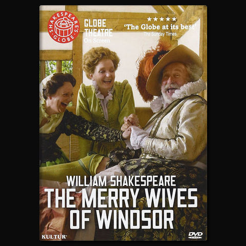 Globe Theatre On Screen's The Merry Wives of Windsor - DVD