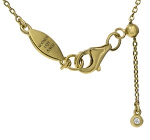 NT-48/G - Chain Necklace with Pave Teardrop