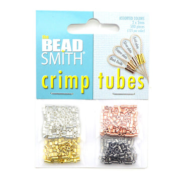 Beadsmith Crimp Tubes- Assorted Colors - Beadshop.com