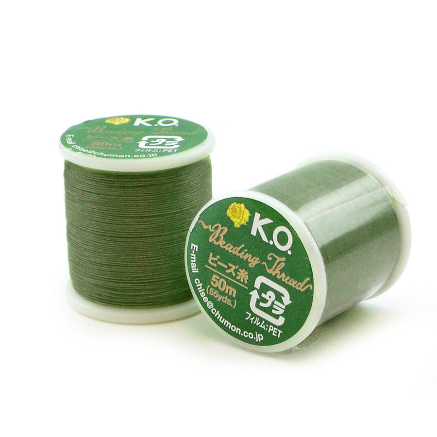 Dark Olive- KO Thread - Beadshop.com