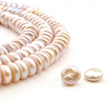 Peach Button Pearl , Pearls - Pearl Concepts, Beadshop.com