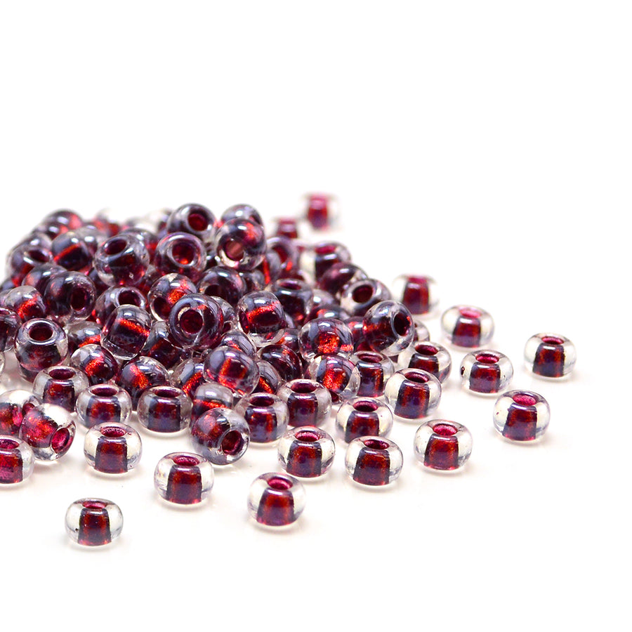 6-3208 Magic Purple Cranberry Lined Crystal