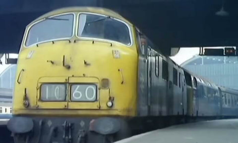 Still taken from Diesel & Electric on 35mm, volume 3 train video.