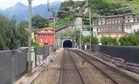 The Old Gotthard Tunnel Route