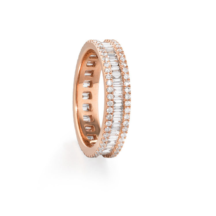 City Diamond Baguette Ring