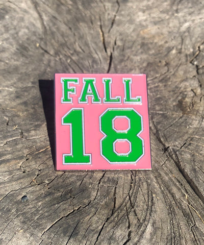 Fall 18 lapel pin