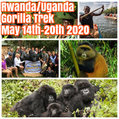 (Sold Out)Happy in Rwanda/Uganda Gorilla Trek May 14th-May 20th 2020 featuring rare Golden Monkey and Gorilla trekking, Kigali city tour, community visits and canoe ride on Lake Bunyonyi