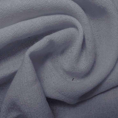 Wool Crepe Dusty Blue