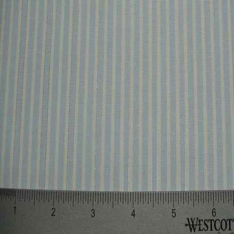 100% Cotton Fabric Stripes Collection #10 04 LUR0009BLU - NY Fashion Center Fabrics