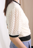Puff Sleeves Cardigan (2 colours)