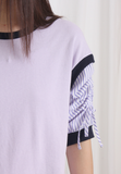 Striped Sleeves Top