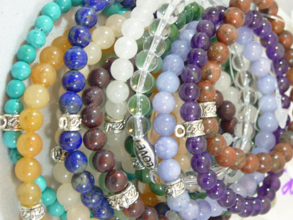 Birthstone Bracelets Birth month perfect gift grandma and mom