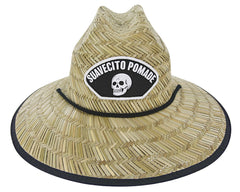 Broken Skull Straw Hat