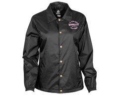 Speedster Black Windbreaker - Front