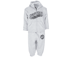 OG Sweatsuit - Infant's Grey - Front