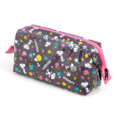 Snoopy Pencil Case: Afro Glitter
