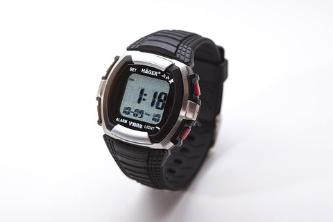 HAGER 8 Vibrating Alarm Watch