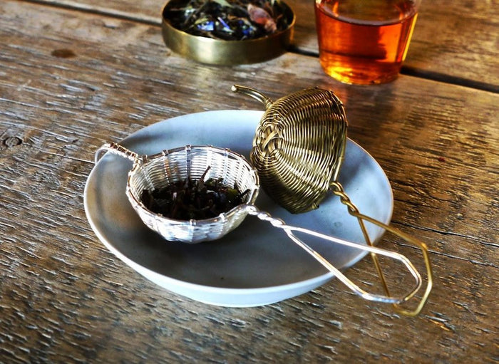 Petit Handwoven Tea Strainer