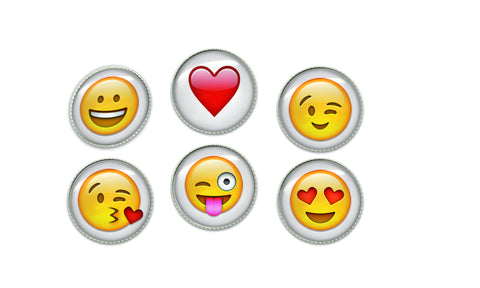 Emoji Buttons | Handcrafted USA