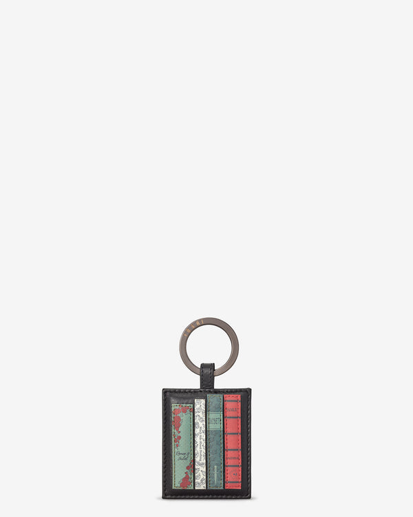 Shakespeare Bookworm Library Leather Keyring