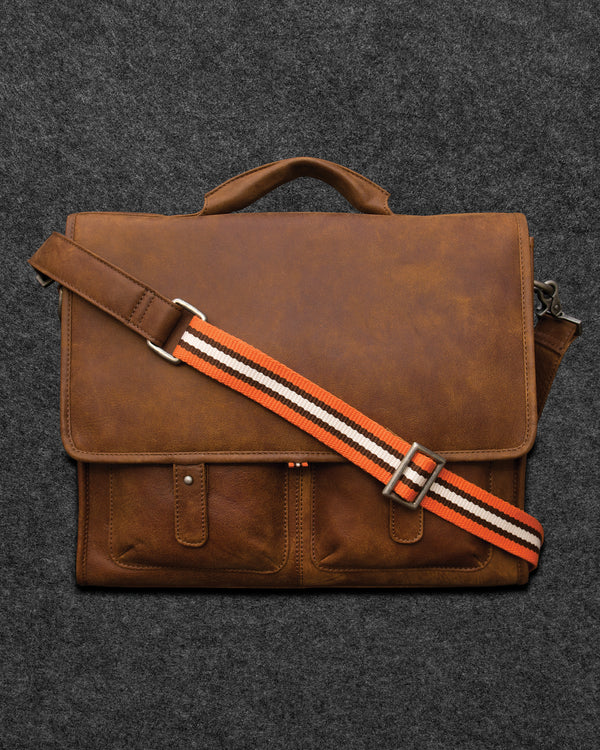 Yukon Leather Despatch Bag