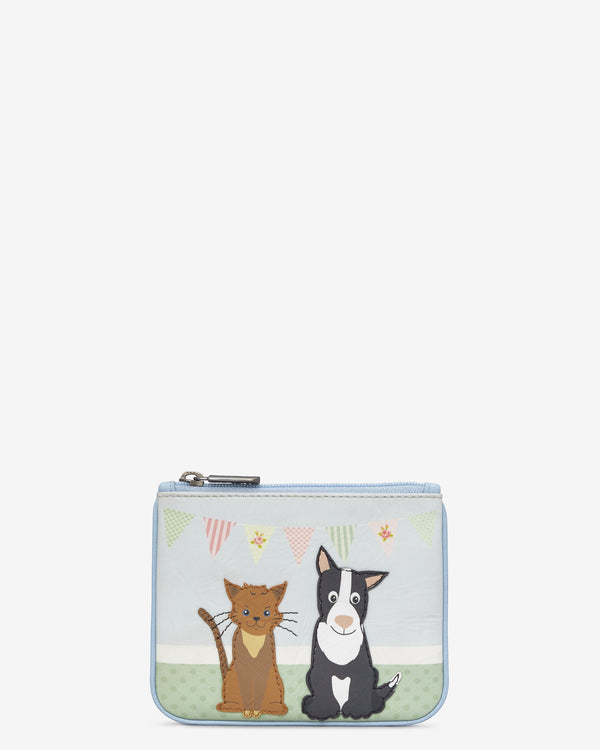 Y By Yoshi Leather Dog and Cat Pet Party Zip Top Purse