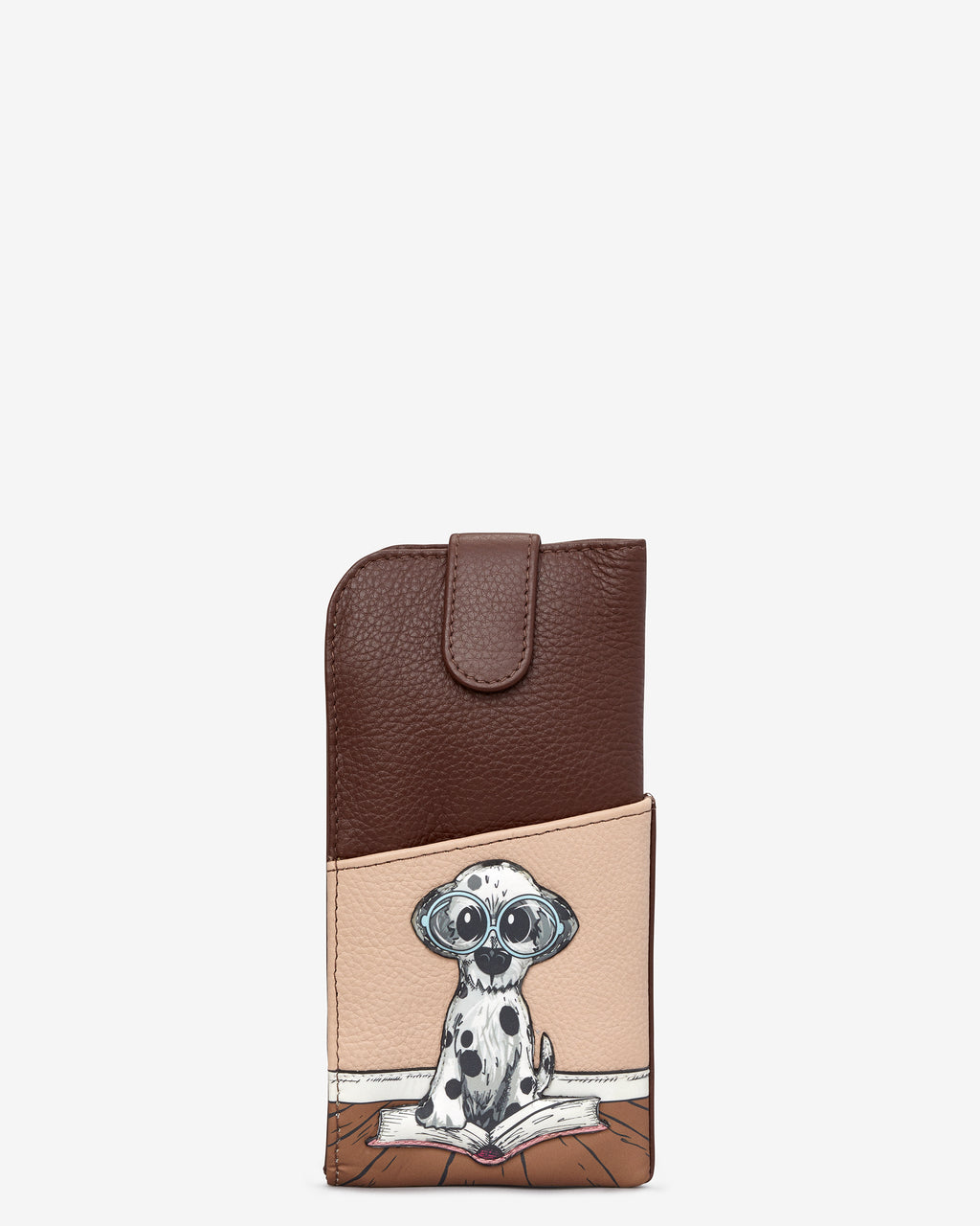 Bookhound Gang Leather Glasses Case