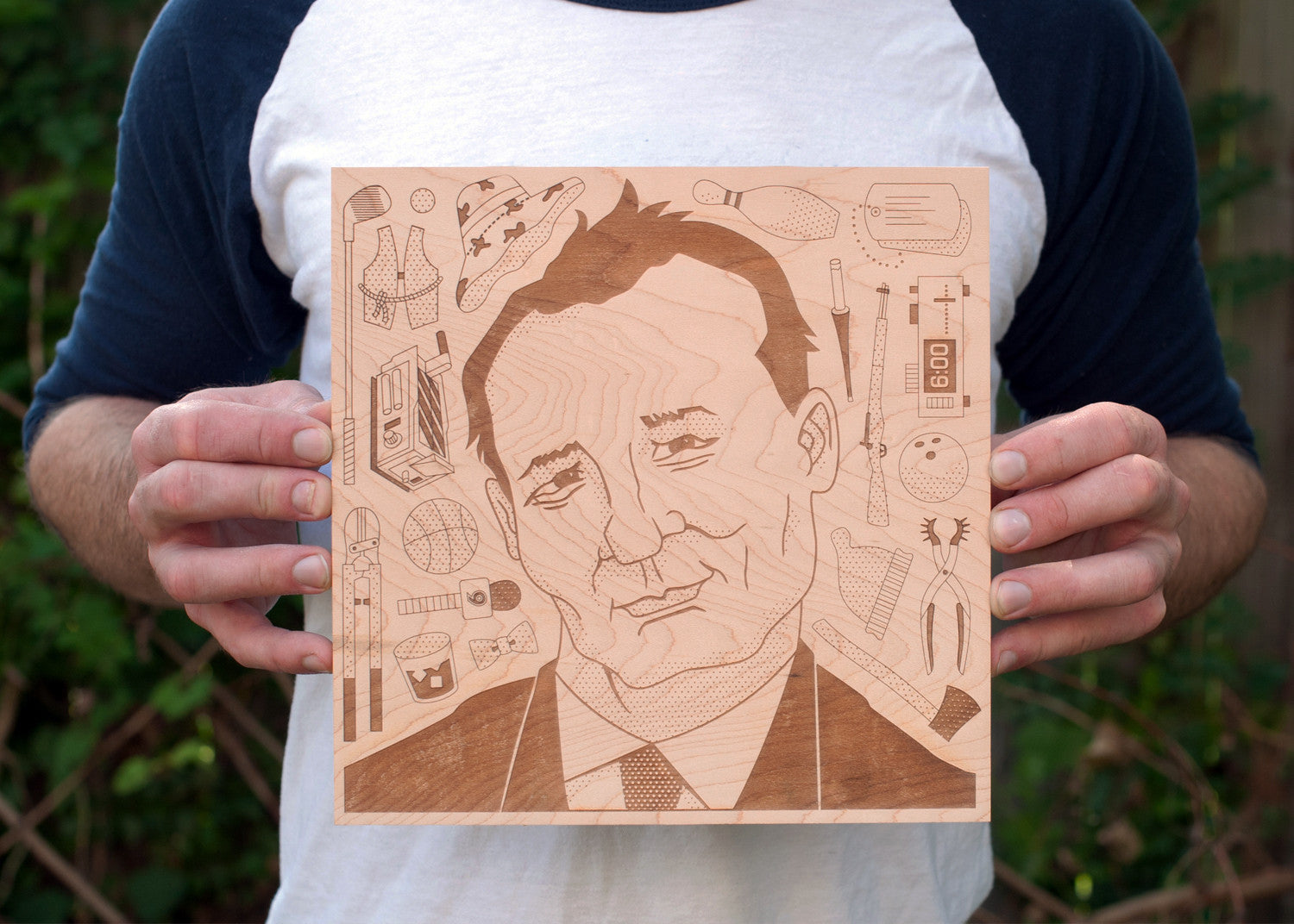 Woodblock Heroes: Bill Murray