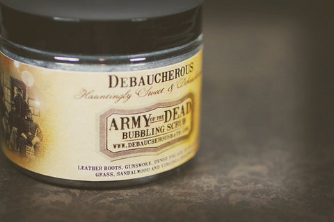 Army of the Dead Bubbling Scrub