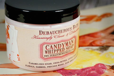 Candyman Whipped Soap - Debaucherous Bath