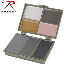 7 Color Camo Face Paint Compact