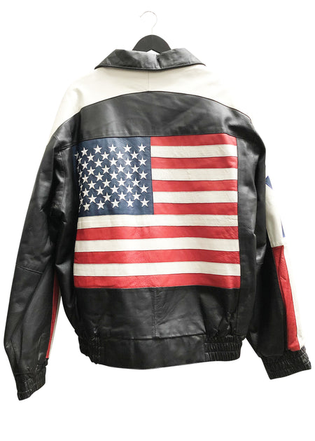 USA VINTAGE LEATHER JACKET