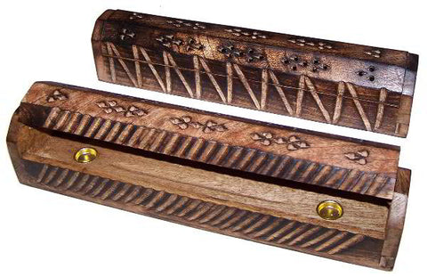 305mm Antique Look Mango Wood Smoke Box
