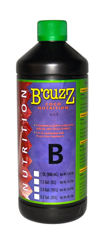 B'Cuzz Coco Nutrition Component B 1L