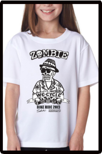 2013 Zombie Youth T-Shirt White