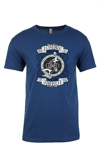 2015 Zombie Joe T-Shirt – Cool Blue