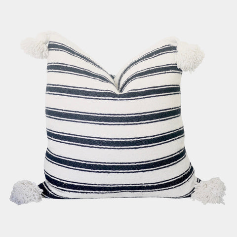 "Etna 20"" x 20"" Pom Pom Pillow Cover"