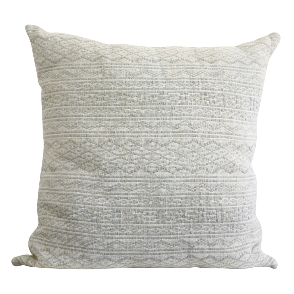 "Pretty little Laos Dusty Sage Pillow Cover 24"" x 24"""