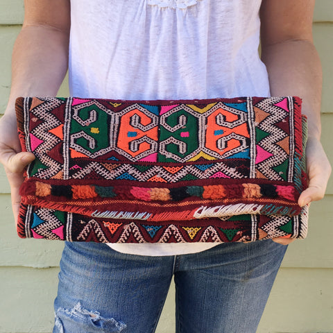 The Janette Oversized Clutch