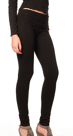 """Ballerina"" Organic Cotton Leggings - sustainable clothing for women"