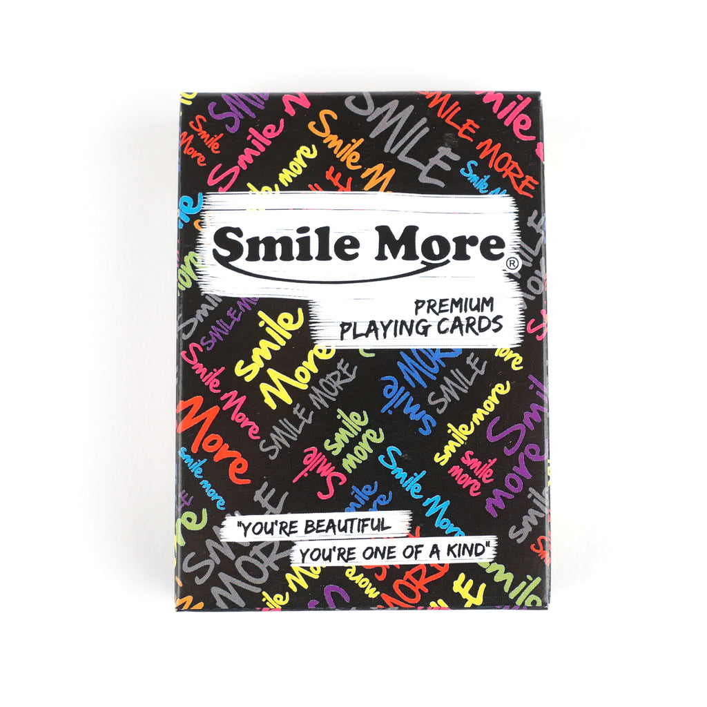 Smile More Playing Cards