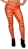 Tiger Print Leggings Design 410