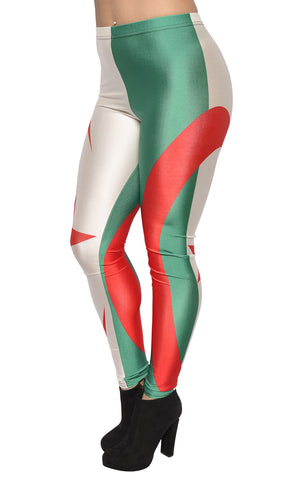 Algeria Flag Leggings Design 480