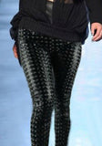 Black Holographic Leggings Design 97